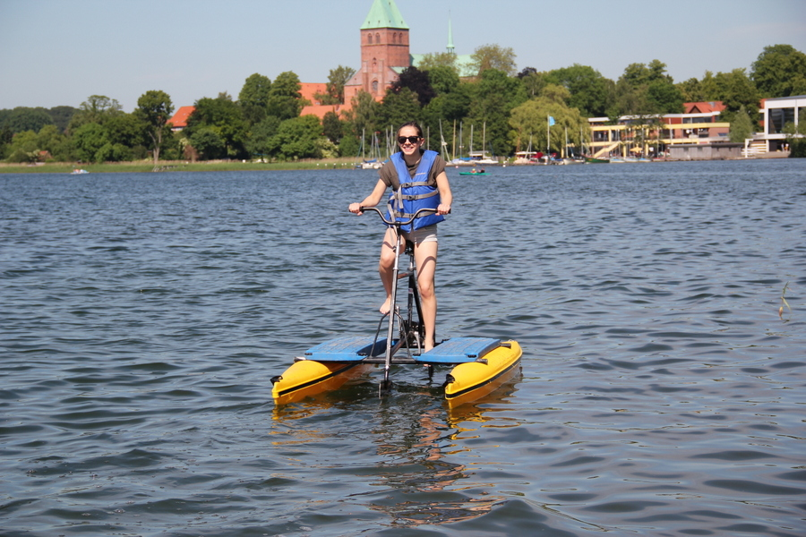 Wasserfahrrad Hydrobike Ratzeburg