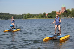 Ratzeburg Wasserfahrrad See