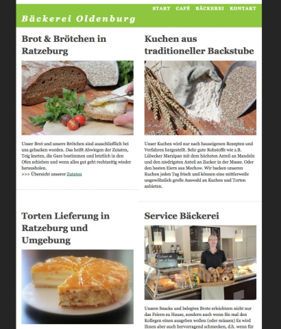Website Gestaltung Lauenburg
