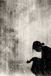 schmerz zulassen - empfindsam, verwundbar