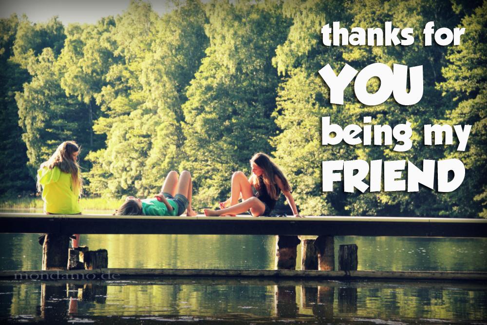 Freunde sein und Sommerzeit